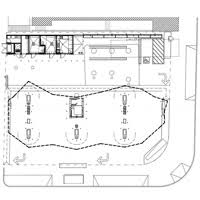 gas station floor plans architectureweek design green gas station 2010 0512