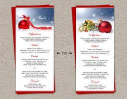 Thanksgiving Dinner Menu Template Sample Party Menu Template Christmas Eve Restaurant Menu Template