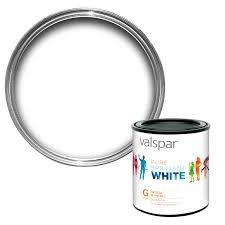 valspar interior pure brilliant white gloss wood u0026 metal paint 1l