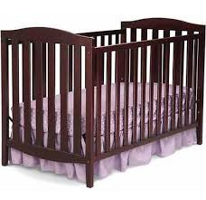 brown baby crib convertible 3 in 1 nursery toddler bed furniture