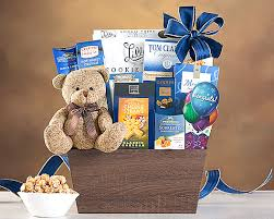 hanukkah gift baskets teddy baskets cuddly happy birthday teddy gift