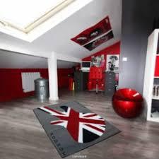 decoration anglaise pour chambre tapis drapeau anglais original rectangulaire protection sol avec
