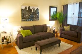 grey and dark green living room home design ideas