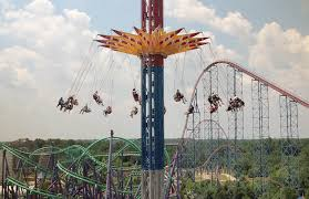 Buses To Six Flags Nj All Rides Six Flags America