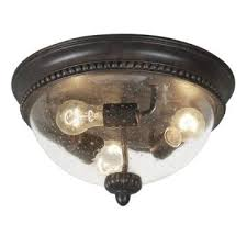 seeded glass light fixtures three light dark expresso curved seeded glass outdoor flush mount