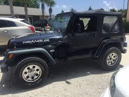 jeep wrangler panama city fl 1999 jeep wrangler se suv in panama city fl 1j4fy29p1xp438469