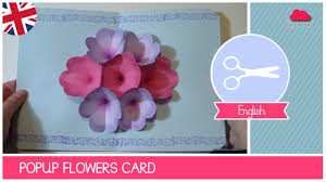 Cute Card With Watercolor Flowers With Hand Draw Sing I Love Mother U0027s Day Greeting Card With Pop Up Flowers Diy Ideas By