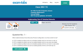 300 115 cisco real exam questions 100 free exam labs