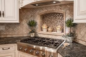 backsplash medallions simple powell ohio kitchen remodel features