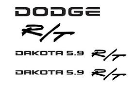 dodge dakota sport decals product dodge challenger srt4 srt8 windshield decals stickers 1