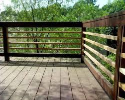 diy horizontal deck railing kimberly porch and garden smart