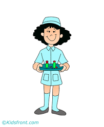 nurse community helper coloring pages clipart free clipart