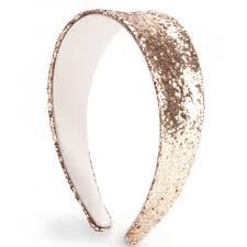 ban do big shot retro glitter sparkle headband gold