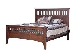 Antique Mission Style Bedroom Furniture Amish Beds Amish Custom Furniture