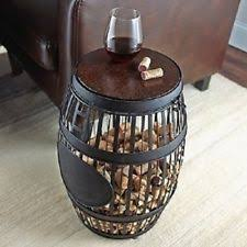 Barrel Side Table Wine Barrel Side Table Wine Barrel Table Set Wine Rack Base With