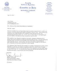 Corporate Trainer Resume Sample by Ca Legislative Open Records Act Is A Joke Calnewsroom Com