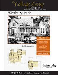 Southern Living Cottage Floor Plans Westbury Park The Cottage Group Southern Living House Plans