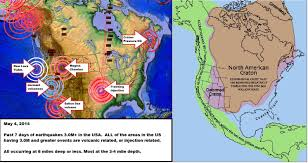 Oregon Volcano Map by 5 04 2014 U2014 Multiple Volcanic Earthquakes In 7 Days Time