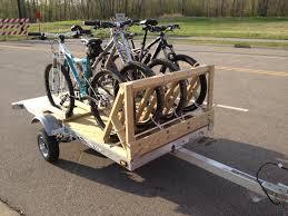motocross bike trailer diy bike trailer hitch riding bike