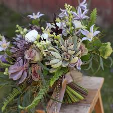 cincinnati florists inspired by this gorgeous succulent wedding bouquet with ferns