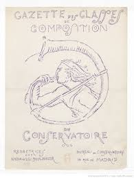coll ue de bureau the gazette des classes du conservatoire 1915 1919 royal