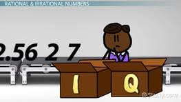 what are irrational numbers definition u0026 examples video