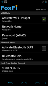 wifi tether for root users apk foxfi enables wifi tethering without the cost no root required