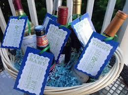Bridal Shower Wine Basket Wedding Wine Gift Basket Ideas Lading For