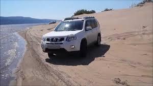 nissan australia x trail nissan x trail offroad in sand youtube