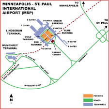 msp airport terminal map airguide airports minneapolis st paul international