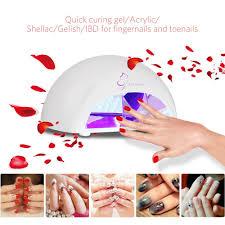 amazon com nail polish dryer 12w led nail lamp manicure curing