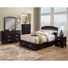 alpine furniture carmel storage platform bed hayneedle