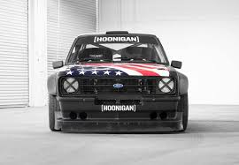 hoonigan mustang interior old rules ken block u0027s new ford escort mk2 gymkhana car by