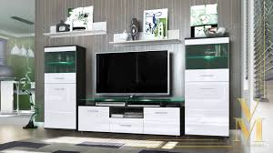 vetro modern wall unit entertainment center with regard to units