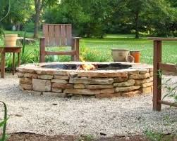 Firepit Seating Pits Fireplaces Design Landscaping Masonry