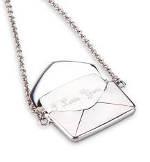 Necklace Engraving Love Letter Necklace With Free Engraving Personalized