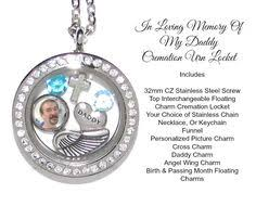 in loving memory lockets cremation necklace hook urn fishing hook locket ashes holder