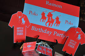polo themed baby shower collections