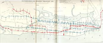 Nyc City Subway Map by New York City Subway Map From 1904