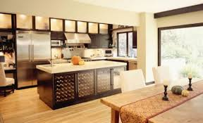 kitchen white contemporary kitchen islands wooden flooring