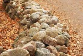 Rock Borders For Gardens How To Landscape With Rock Borders Home Guides Sf Gate