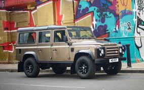 land rover defender autobiography land rover defender xtech special edition launched in u k