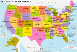 map of usa showing states and cities us map capitals and cities map of usa showing state names