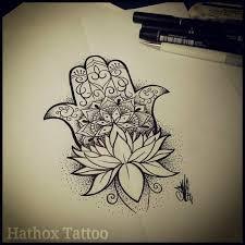16 awesome hamsa tattoo designs