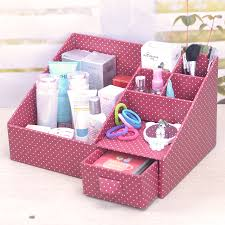 Diy Office Desk Accessories by Diy Makeup Organizer Cardboard Cardboard Paper Diy Cardboard And