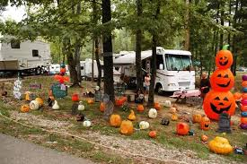 Camping Decorations Top Halloween Rv Decorations To Spookify Your Camping Camping