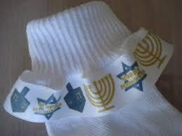 chanukah socks ruffle socks hanukkah chanukah menorah dreidel of david for