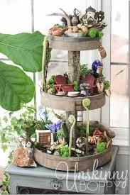 20 whimsical diy miniature fairy garden ideas woodland fairy