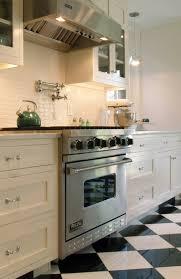 carrelage cuisine damier noir et blanc carrelage cuisine damier noir et blanc carrelage blanc