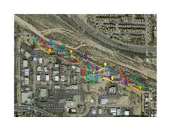 Lightning Maps Local Courses Tucson Disc Golf